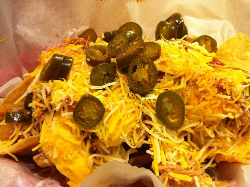 31. BBQ nachos at Central BBQ (half order)