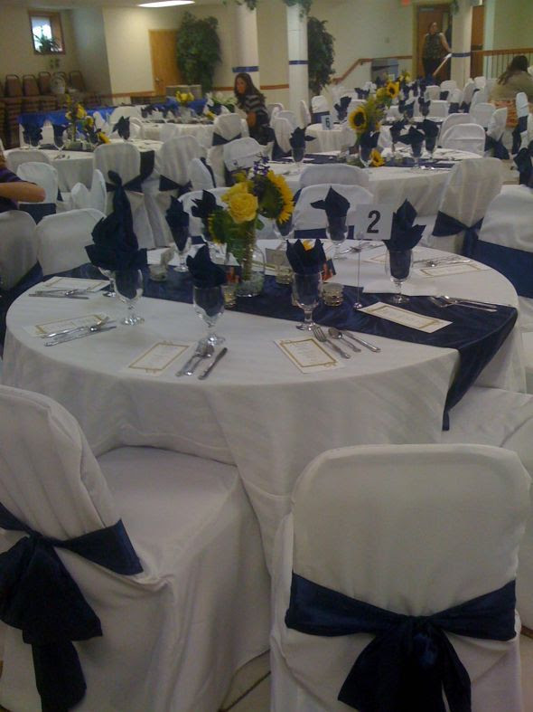 Navy Blue Table Runners Wedding Photos Table And Pillow