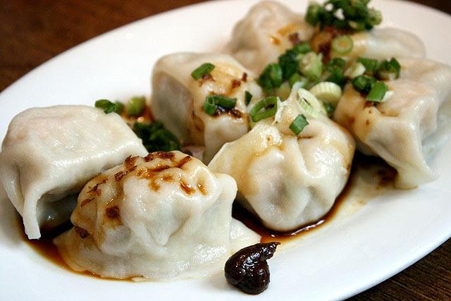 Boiled Gyoza Dumplings
