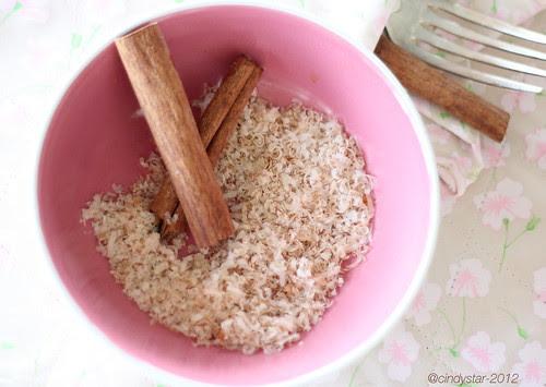 mix parmigiano-cannella-zucchero