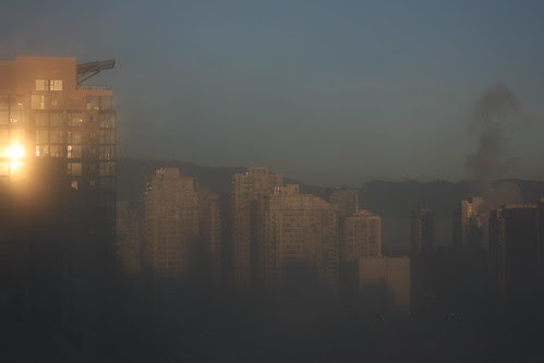 Foggy Boxing Day in Vancouver