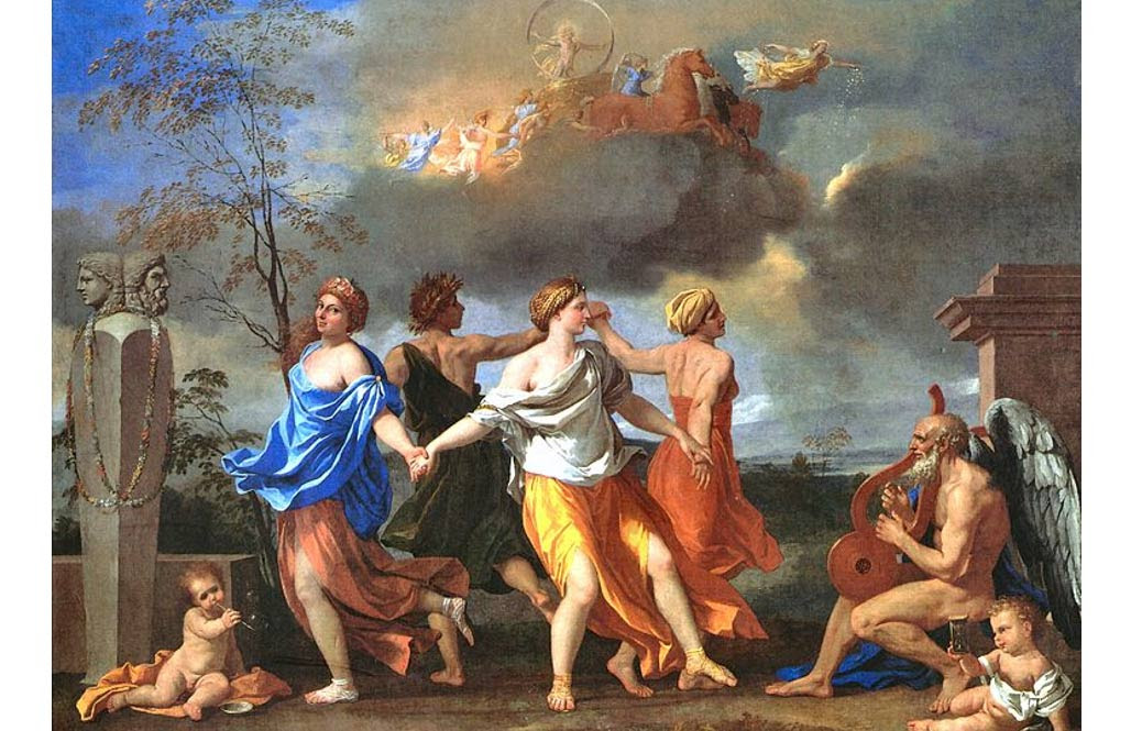 'A Dance to the Music of Time' (1634-1635) by Nicolas Poussin.