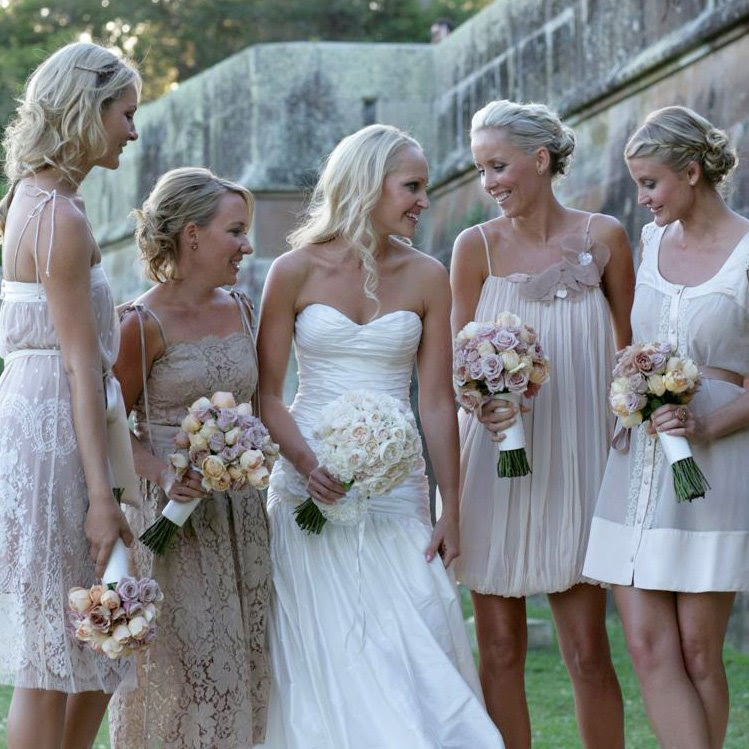 Country Wedding Bridesmaid Dresses