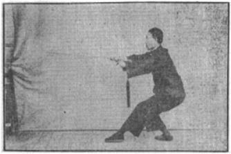 《昆吾劍譜》 李凌霄 (1935) - posture 71