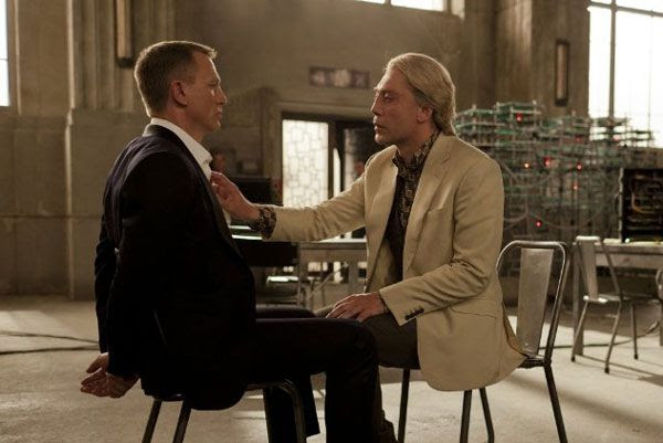 James Bond and Raoul Silva have a conversation about rats in SKYFALL.
