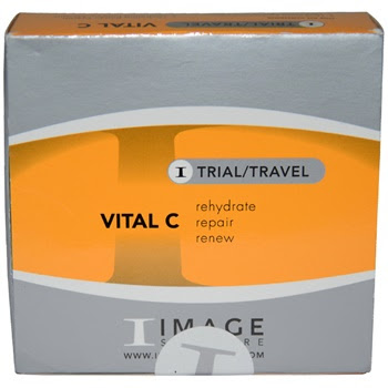 Image Vital C Travel Kit 025oz Cleanser 025oz Anti Aging Serum
