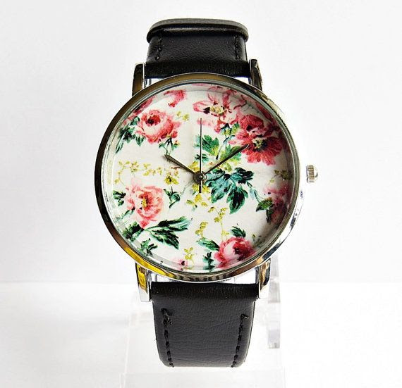 Hey, I found this really awesome Etsy listing at https://www.etsy.com/listing/173525176/floral-watch-vintage-style-leather-watch