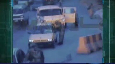 CCTV raw footage of attack at pak army vehicles in kpk