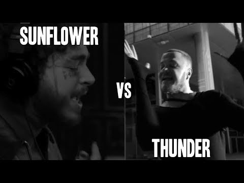 Post Malone x Swae Lee x Imagine Dragons - Sunflower Thunder