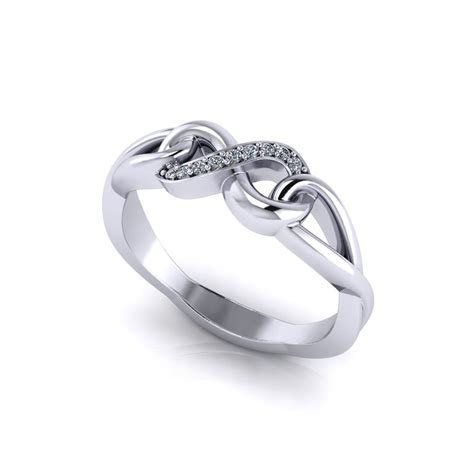 Diamond Infinity Promise Ring   Jewelry Designs