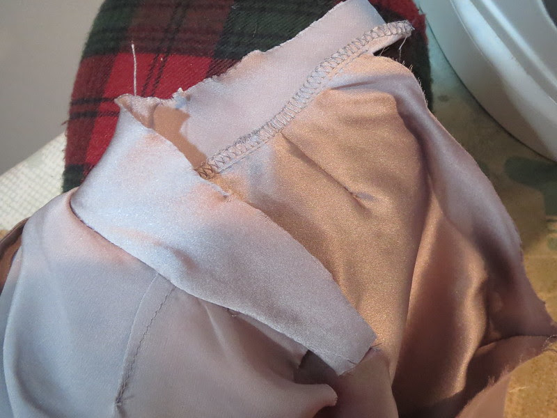Sew Bias Take to Wrong Side