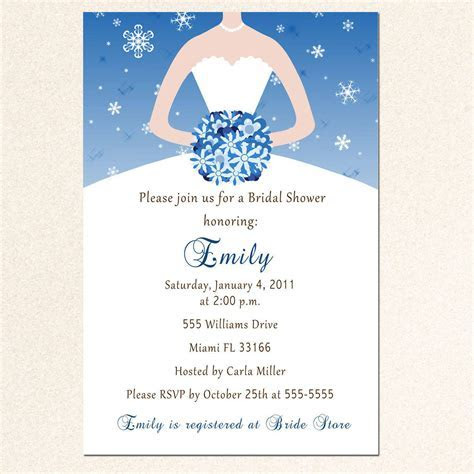 Bridal Shower Invitation Templates : Bridal Shower