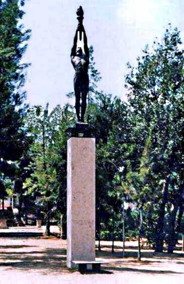 Monument a Ferrer a Montjuïc