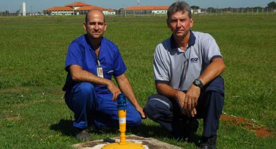 Aeroporto de Cuiabá instala novas luminárias para taxiamento