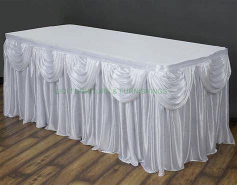 Popular Wedding Table Skirting Buy Cheap Wedding Table