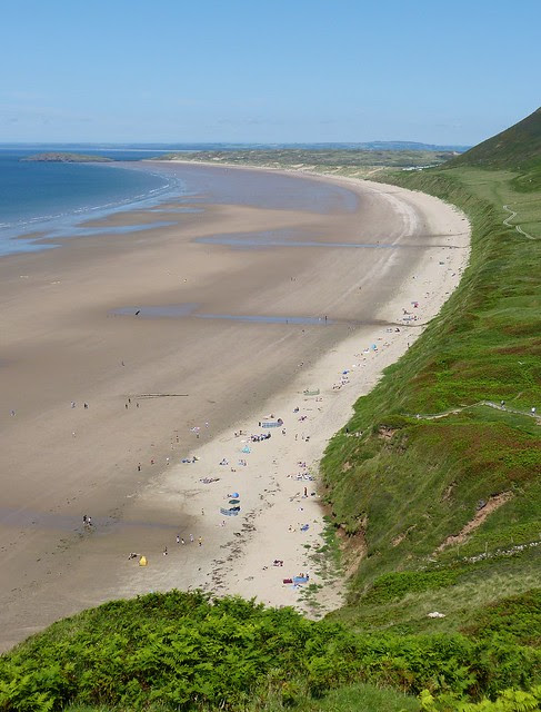 27620 - Rhossili Beach, Gower