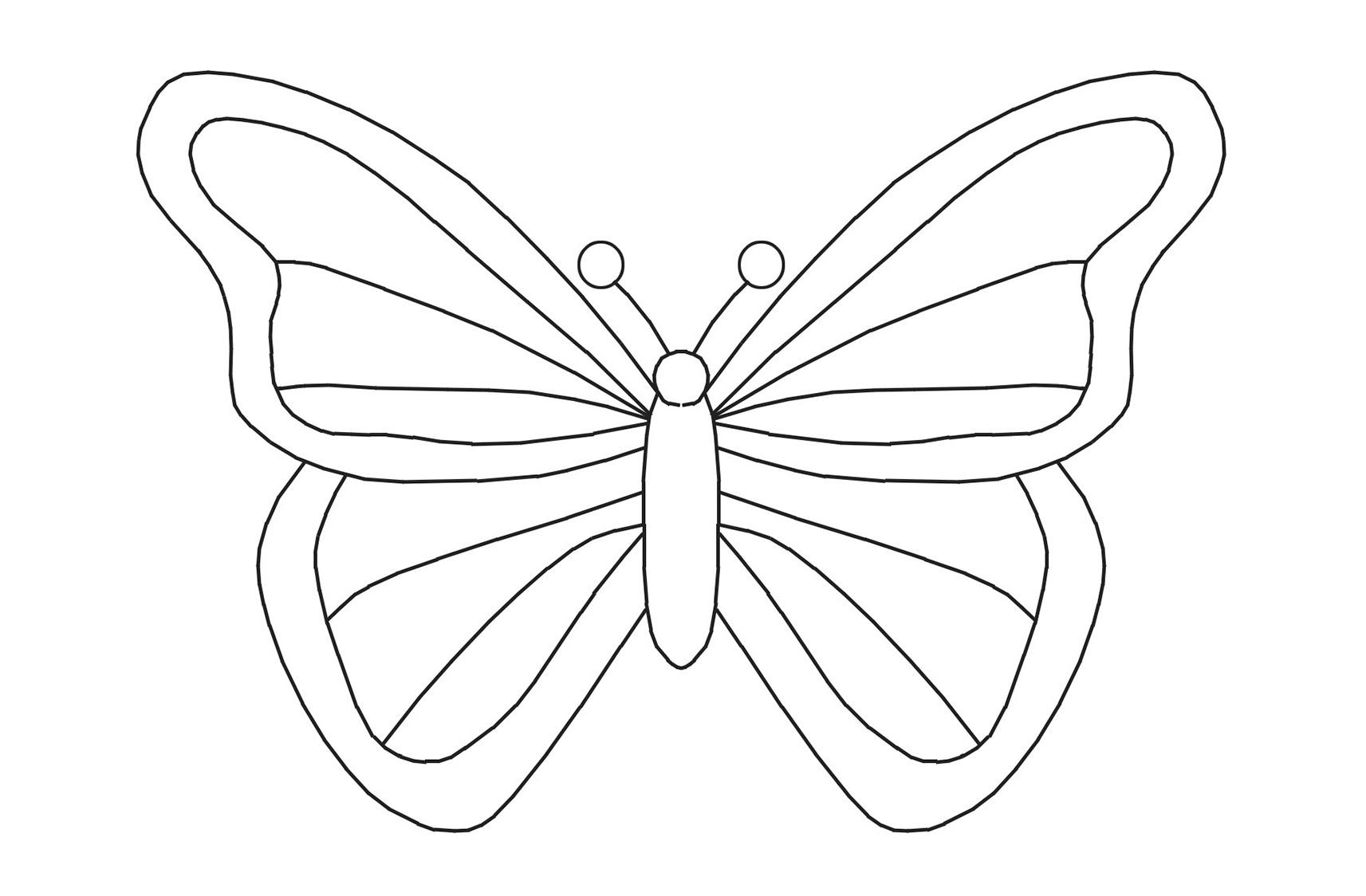 Kelebek El Kuklası Faber Castell Eğlenceli Boyama Projedenizi