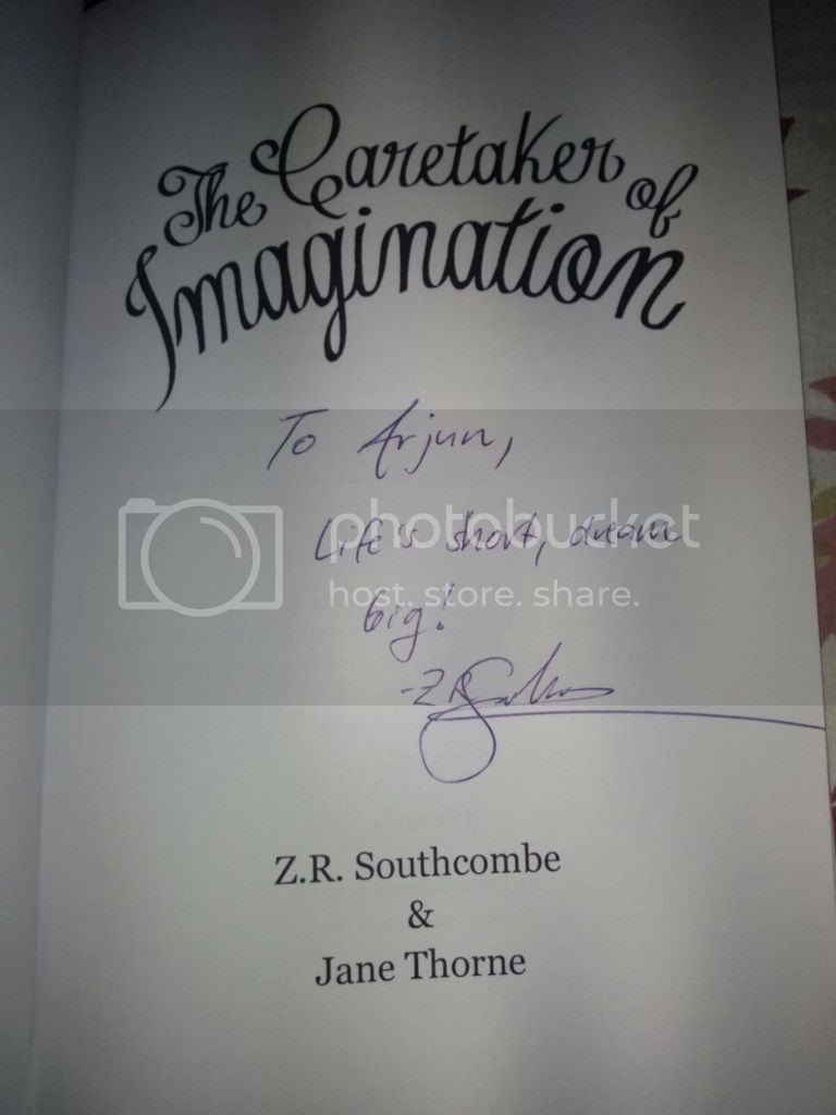 Yipeeee! I got it signed!