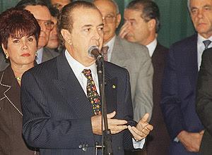 Luiz Carlos Santos, no Palácio do Planalto em 1996