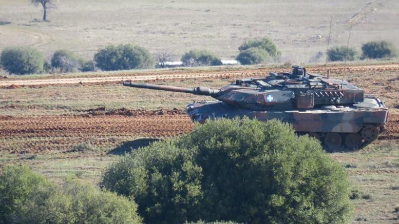Άρμα μάχης του Ελληνικού Στρατού. Φωτογραφία, Γραφείο Τύπου ΓΕΣ