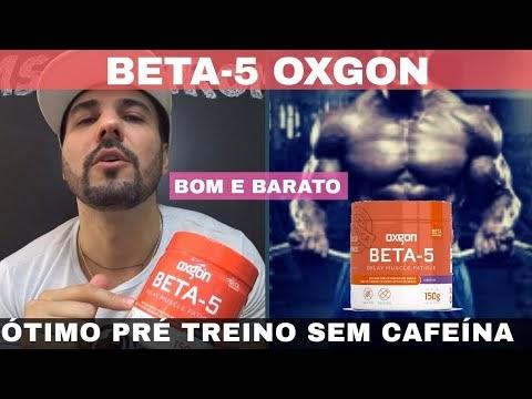 BETA 5 OXGON ÓTIMO PRE TREINO SEM CAFEÍNA E BETA NA COMPOSIÇÃO DANDO DISPOSIÇÃO E UM PUMP NO TREINO