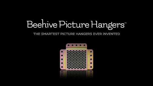 Beehive Picture Hangers | A Smart Re-Thinking To Solve A Common Problem