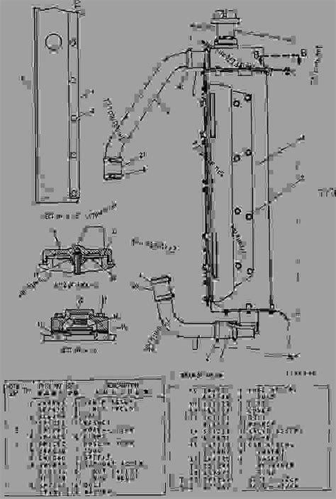 4Y5575 RADIATOR - TRACK-TYPE TRACTOR Caterpillar D6H II