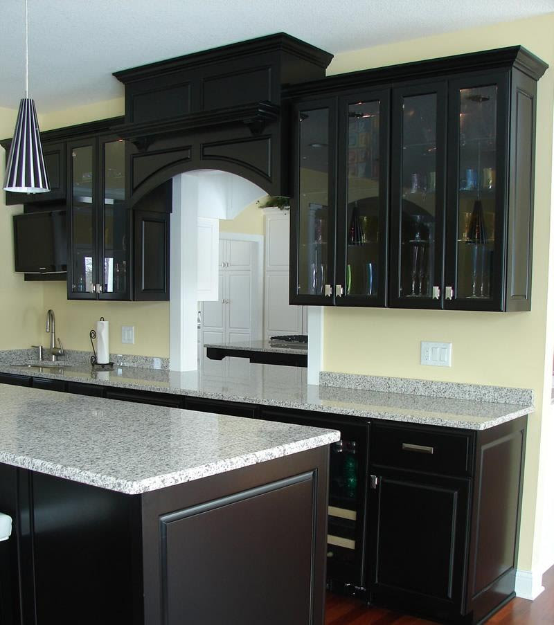 23 Beautiful Kitchen Designs With Black Cabinets