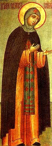 img ST. EUPHROSYNE, Euphrosynia, of Polotsk