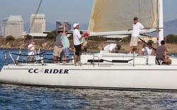 J/120 sailing San Diego
