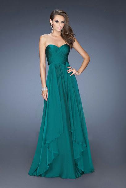 Evening maxi dresses 2014