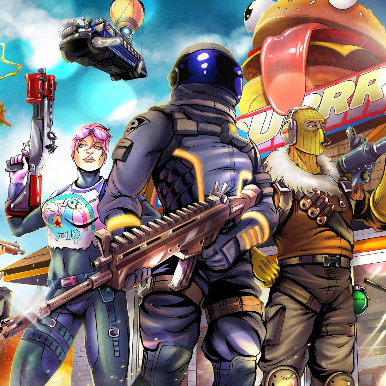 Desktop wallpaper 2018, video game, fortnite, art, hd image, picture, background, b0fc04