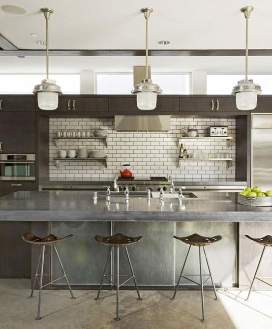Industrial Home Kitchen | Home Design Ideas Essentials