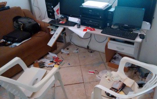 Dono diz que foram levados apenas algumas moedas | Foto: Notícias de Santaluz