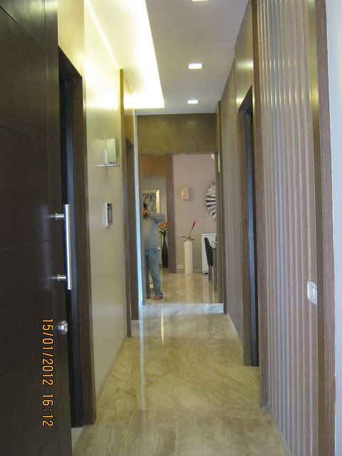Entrance lobby  - Show flat of Pittie Kourtyard, 2 BHK & 3 BHK Flats at  Kharadi, Pune 411 014