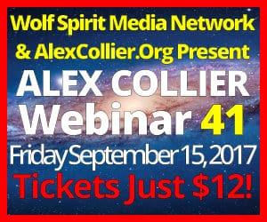 Alex Collier's FORTIETH Webinar *LIVE* - September 15, 2017!