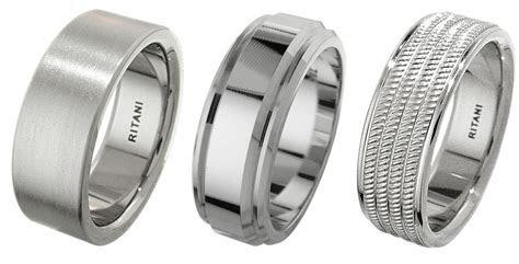 The Best Metals for Men's Wedding Rings