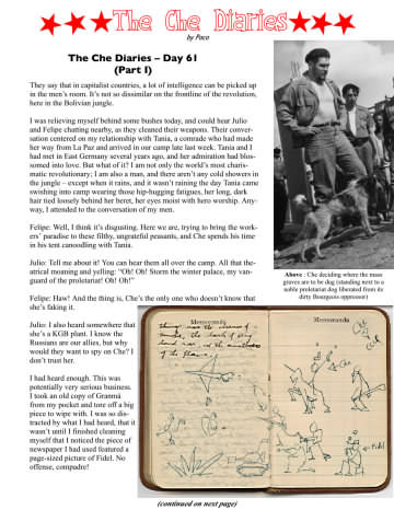 The Che Diaries Day 61 part 1 by Paco