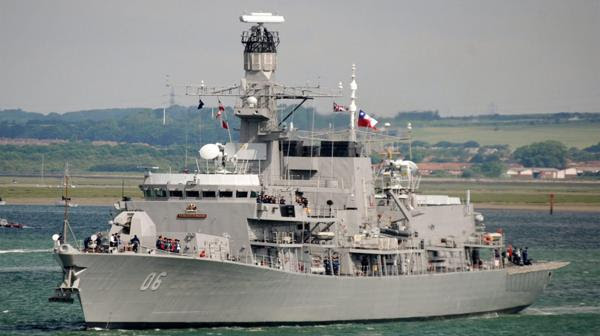 La fragata Almirante Lynch