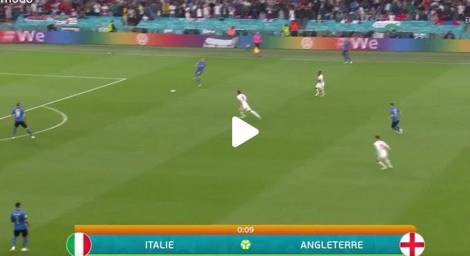 Italy  1:1  England  / UEFA Euro 2020