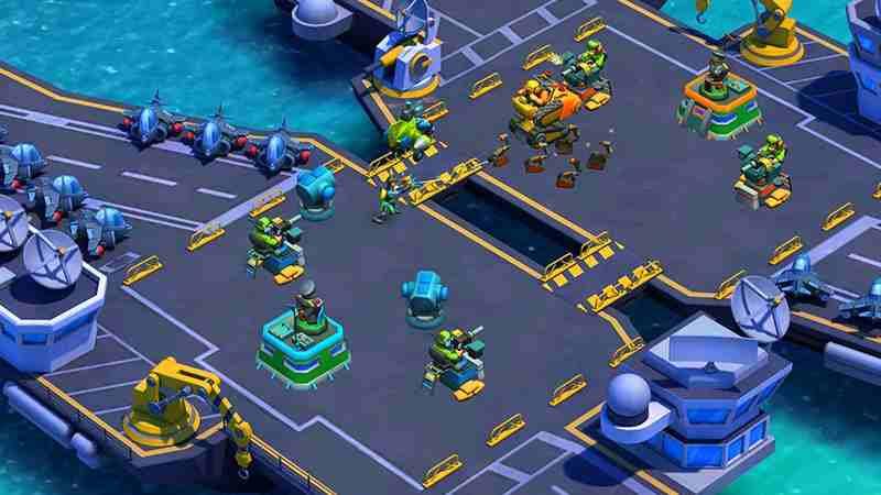 chơi game Blitz Brigade Rival Tactics