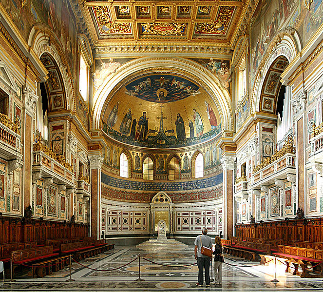 Archivo: Chor Apsis San Giovanni Laterano Rom.jpg