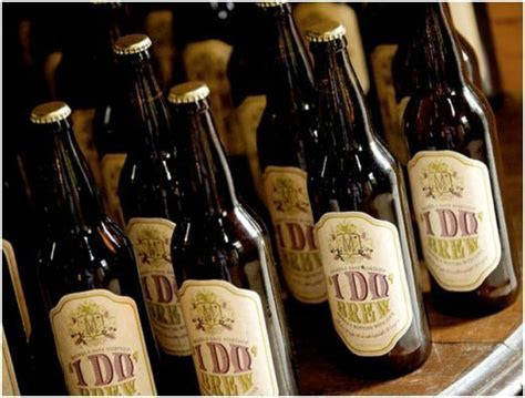 14 Ways To Make Beer Part Of Your Wedding