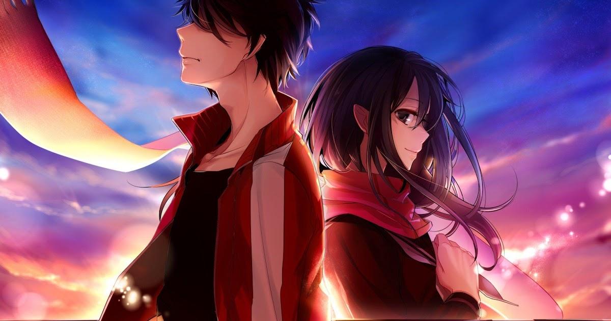 Anime Keren Girl And Boy Pedro Gambar