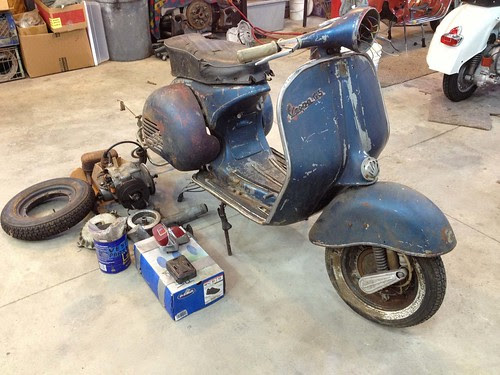 1960 Vespa VS5 #1 by www.greentreescooters.com