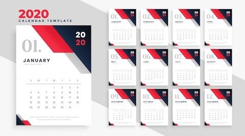 Kalender 2020 Gambar Hd