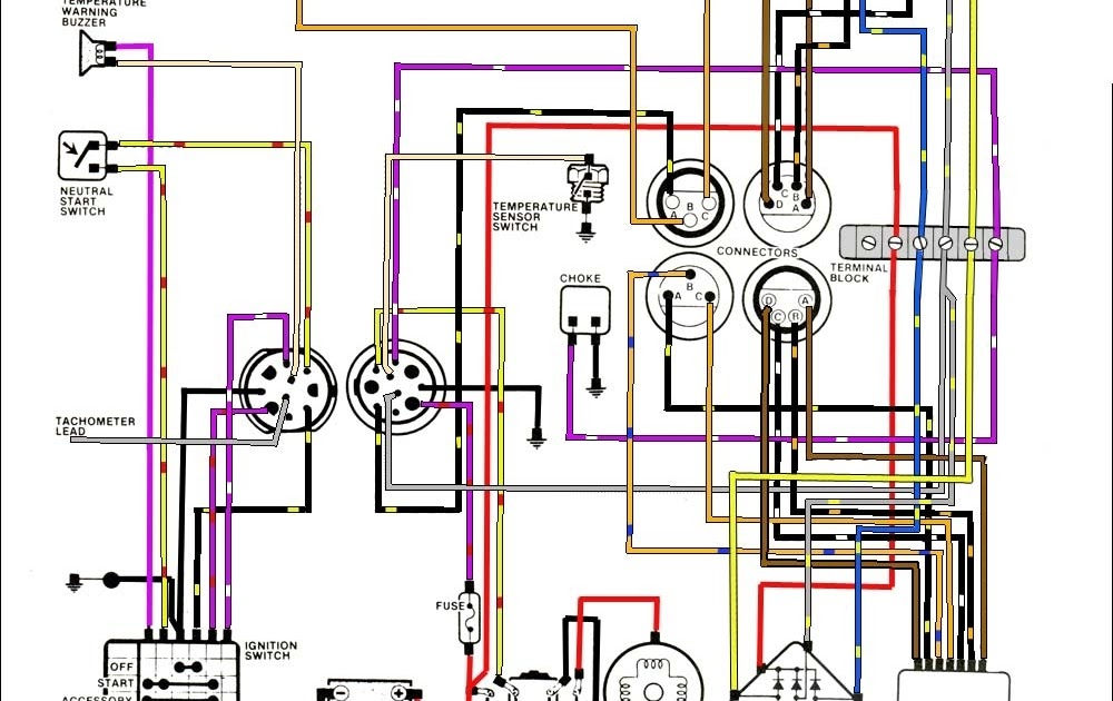 30 Evinrude Ignition Switch Wiring Diagram