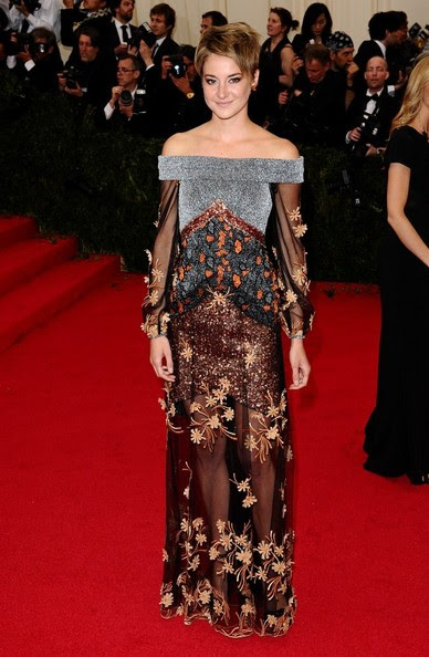 Shailene Woodley - Red Carpet Arrivals at the Met Gala — Part 2