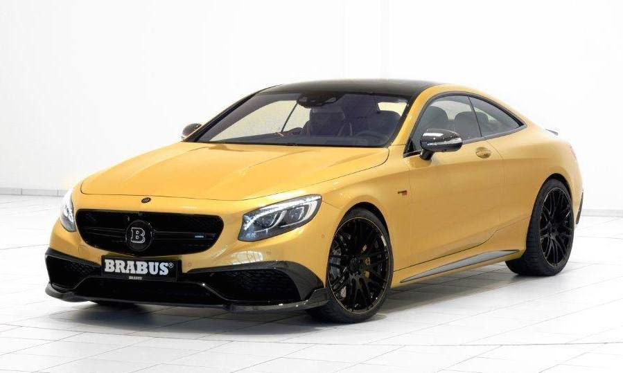 Brabus Mercedes-Benz S63 Coupe 850 Spotted - BenzInsider.com - A ...