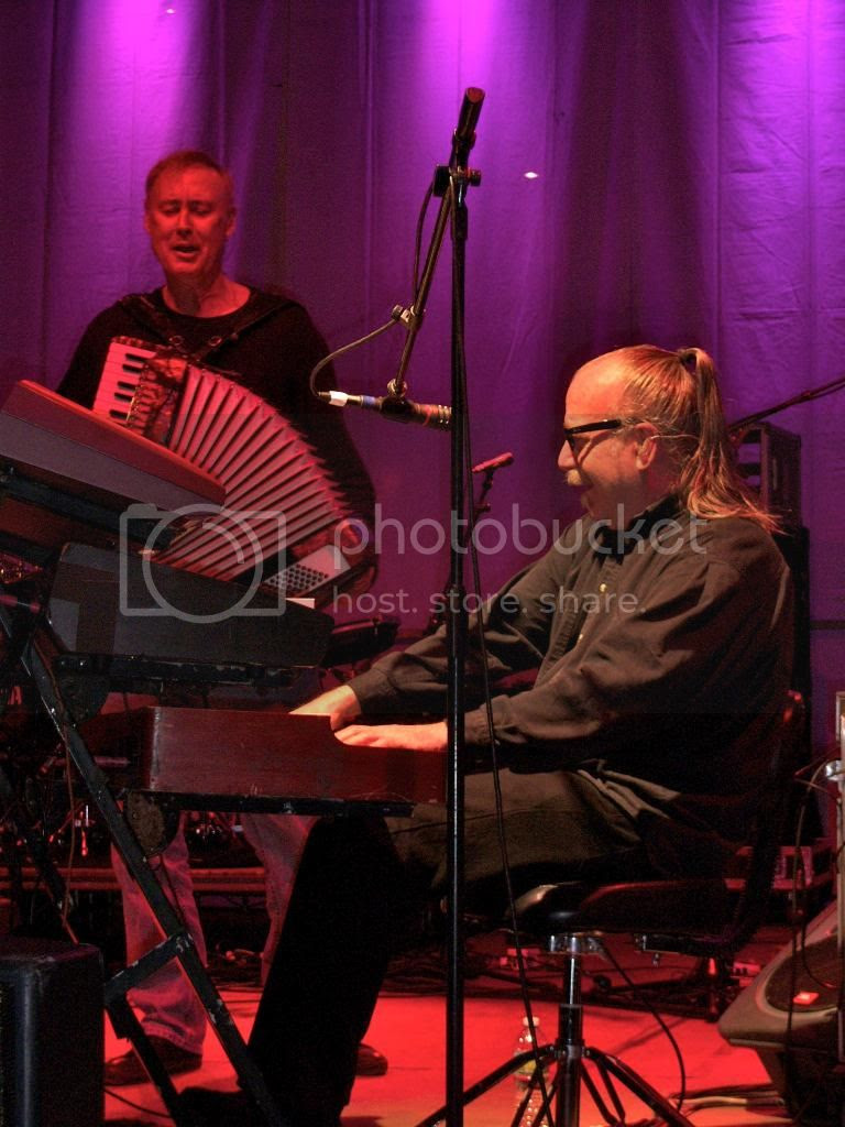 Bruce Hornsby and keyboardist